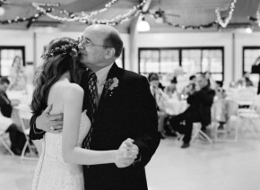 Father Daughter dance at Dallas wedding reception.