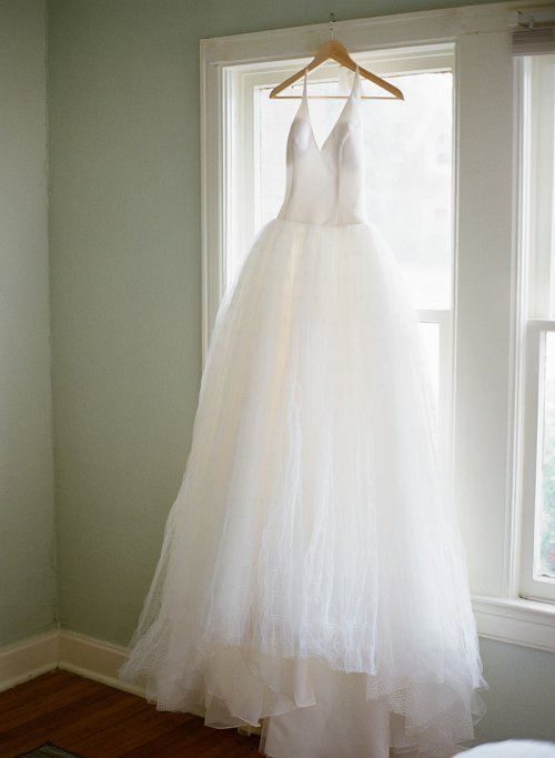 Vera Wang wedding dress by Dallas photographer Jenny McCann.