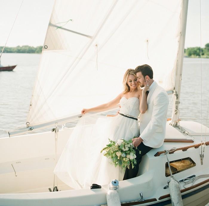 Nautical wedding by Dallas photographer Jenny McCann.